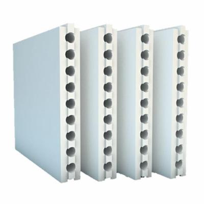 Bloco de Gesso - É utilizado na construção de paredes internas e divisórias