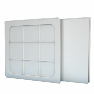 Placa Gesso - As placas de forro moldadas em gesso são utilizadas em rebaixamento de tetos